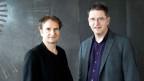 Porträt der Künstlerischen Leitung der Münchener Biennale Daniel Ott und Manos Tsangaris.