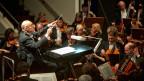 Das SWR Sinfonieorchester Baden-Baden während eines Auftritts.