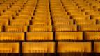 Leerer Konzertsaal mit gelben Konzertstühlen
