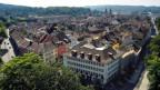 Panoramafoto von Winterthur