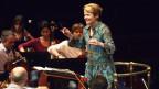 Dirigentin Marin Alsop während der Arbeit.
