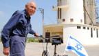Chaim Miller in seinem Kibbutz südlich von Tel Aviv.