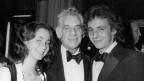 Leonard Bernstein mit seiner Tochter Jamie und seinem Sohn Alexander