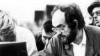 Schwarz weiss Foto von Stanley Kubrick