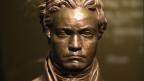 Kopf einer Bronze-Büste Beethovens