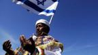 Ein äthiopischer Jude beim Gebet.