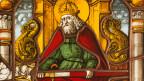Karl der Grosse auf einem Glasgemälde von 1519