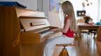 Beliebt bei gebildeten Menschen: das Klavier.