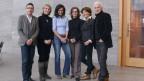 Ein Gruppenbild der sechs Literaturbotschafter.