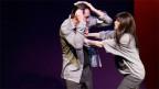 Szenebild: Ein Mann und eine Frau streiten