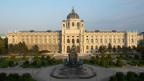 Blick auf das Kunsthistorische Museum Wien