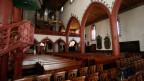 Innenraum der Martinskirche in Basel