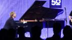 Pianist auf einer Konzertbühne