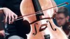 Mann spielt Cello