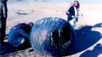 Trümmer von oben: 2001 stürzte ein 70 Kilogramm schweres Teil einer amerikanischen Delta-2-Oberstufe in Saudi Arabien ab.