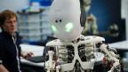 ROBOY, vom «Artificial Intelligence Laboratory» der Universität Zürich entwickelter Roboter, 27.2.13.