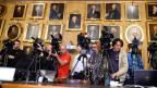 Die Medien lauern auf erste Reaktionen der Preisträger.