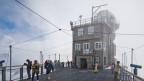 Forschungsstation auf dem Jungfraujoch.