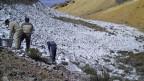Der Kampf gegen den Gletscherrückgang.