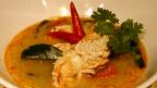 Die thailändische Spezialität «Tom Yam Goong» in einem Restaurant in Bangkok.