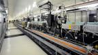 Die erste Stufe der SwissFEL Freie-Elektronen-Röntgenlaser Anlage im Paul Scherrer Institut, die 2010 eingeweiht wurde.