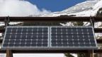 Solaranlage in der Schweiz