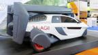 Flugfähiges Auto an der IAA in Frankfurt.