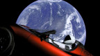 Der Sportwagen im Weltraum
