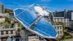 Forschungsanlage auf dem Dach des ETH-Gebäudes