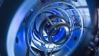 Magnetspulen im Inneren des «Compact Fusion Reactor» von Lockheed Martin.