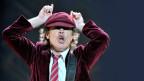 Angus Young Riff-Welt auf der Konzertbühne