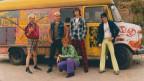 Die Toten Hosen in den 80ern mit Hippie-Punk-Bus