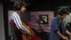Adi und Luca von Baba Shrimps spielen live bei SRF 3.