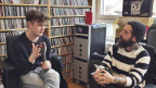Feine Talkrunde im Sounds!-Büro: Bill Ryder-Jones (l.) mit Andi Rohrer.