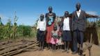 Versuchen seit ihrer Flucht eine Art Alltag zu leben: Die Familie Garang Res.