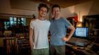 Sänger Nickless mit Produzent Thomas Fessler