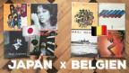 Japan und Belgien haben auch neben dem Fussballplatz einiges zu bieten: Rare Grooves von Brüssel bis Tokio!
