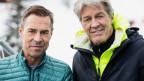 Haben fertig: Matthias Hüppi (links) und Bernhard Russi.