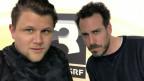 Knackeboul (links) und Tom Gisler.
