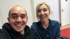 Selfie! Renato Kaiser mit «Focus»-Macherin Anita Richner.