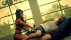 Wax in seinem Video zum Song Rosana.