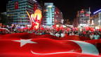 Erdogan-Anhänger in Ankara