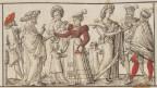 """Einer der ersten Bildnachweise für """"Ziginer"""" in der Schweiz, 1572"""