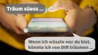 Ein SMS, zwei Worte, drei Punkte: So wenig braucht es, um eine Affäre zu beginnen.