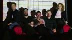 Das britische Art-Pop-Quintett Field Music mit dem Brüderpaar Peter (ganz links) und David Brewis (Mitte)