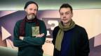 Zwei Fünftel der OOAM-Festivalleitung zu Gast im Sounds!: Nik Fischer (Programmation, l.) und Fabian Mösch (Produktion, r.)