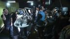 Beim Cypher kann man das Testosteron in der Studio-Luft in Blöcke schneiden