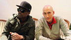 Busy Signal (links) mit Reggae Special-Macher Lukie Wyniger (2014)