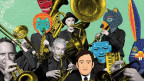 «Orkesta Mendoza» Heisser Musik-Export aus Tucson, Arizona mit Wurzeln in Mexico eine Entdeckung wert an den Stanser Musiktagen vom 25. - 30. April 2017.
