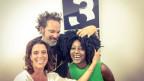 Marianna Da Cruz und Ane Hebeisen der Berner Band Da Cruz zu Gast im World Music Special bei Rahel Giger.